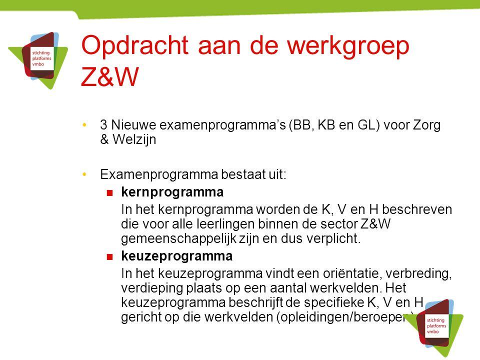 Sector Zorg & Welzijn De essentie van het werken in de Zorg en Welzijn is: Werken met en voor mensen gericht op lichamelijk, geestelijk en sociaal welbevinden De beroepsbeoefenaar is zelf het belangrijkste instrument
