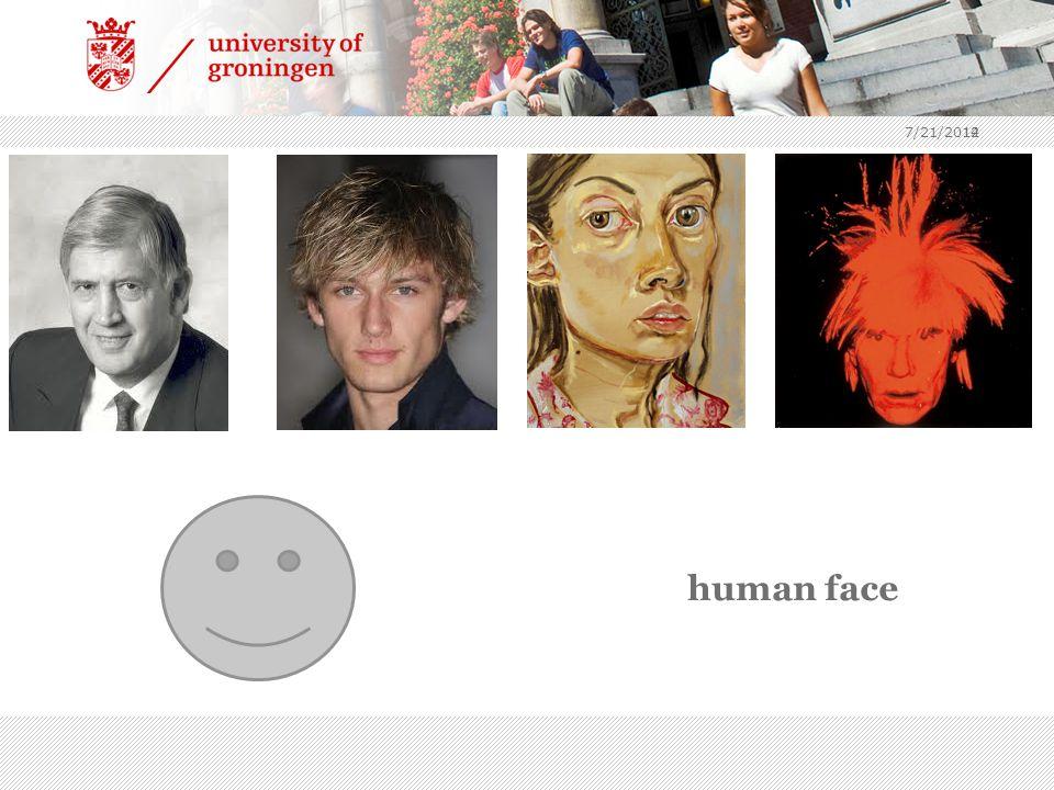 12 human face 7/21/2014