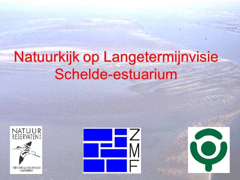 22-03-2001Werkgroep Schelde- estuarium 2 Cluster van Vlaamse en Nederlandse natuurbeschermingsorganisaties in de regio van het Schelde-estuarium Bond Beter Leefmilieu, Het Zeeuwse Landschap, Natuurreservaten, Natuurmonumenten, Zeeuwse Milieufederatie