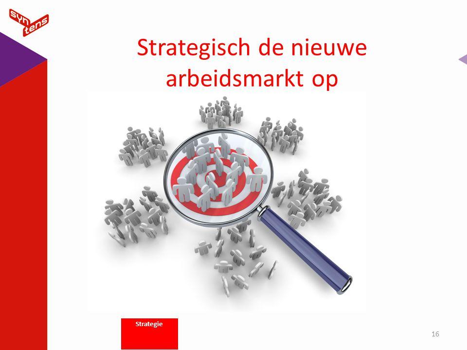 Strategisch de nieuwe arbeidsmarkt op 16 Strategie