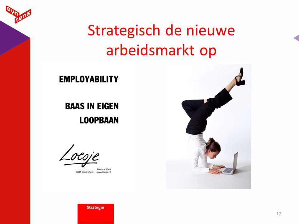 Strategisch de nieuwe arbeidsmarkt op 17 Strategie