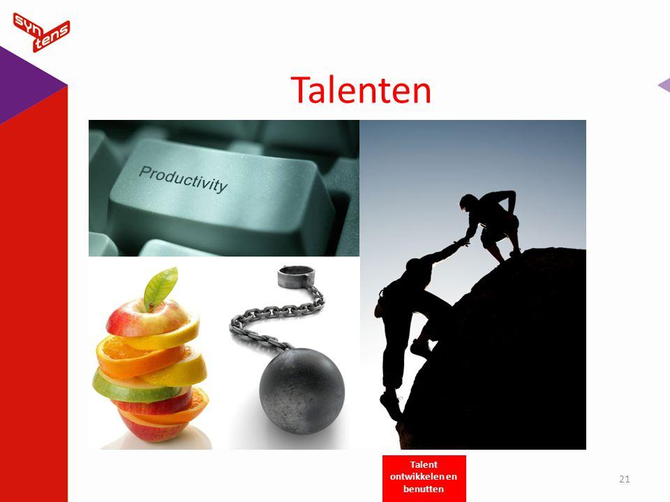 Talenten 21 Talent ontwikkelen en benutten