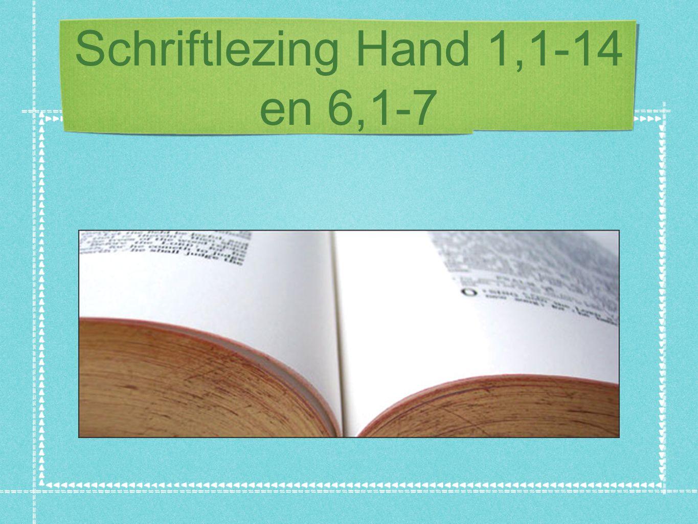 1. Wie en wat? Wie? - Lucas schrijver Hand 1,1: Handelingen en Lucas' evangelie