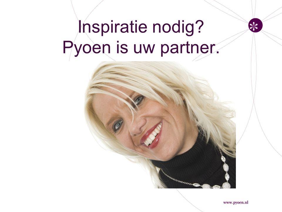 Prikkels van Pyoen Als je inspireert, geef je energie Communicatie is iets in beweging brengen Coachen is de andere leren leren