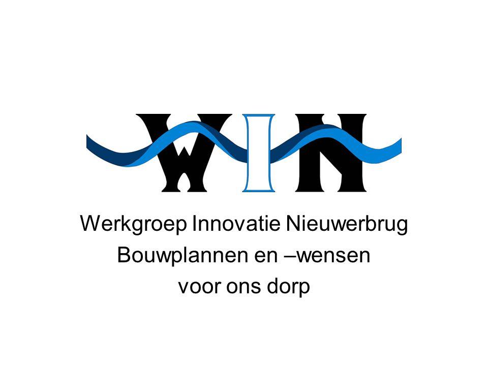 Werkgroep Innovatie Nieuwerbrug Bouwplannen en –wensen voor ons dorp