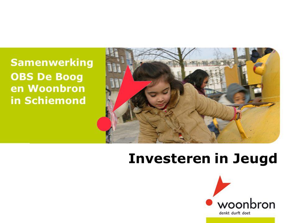 Investeren in Jeugd Samenwerking OBS De Boog en Woonbron in Schiemond