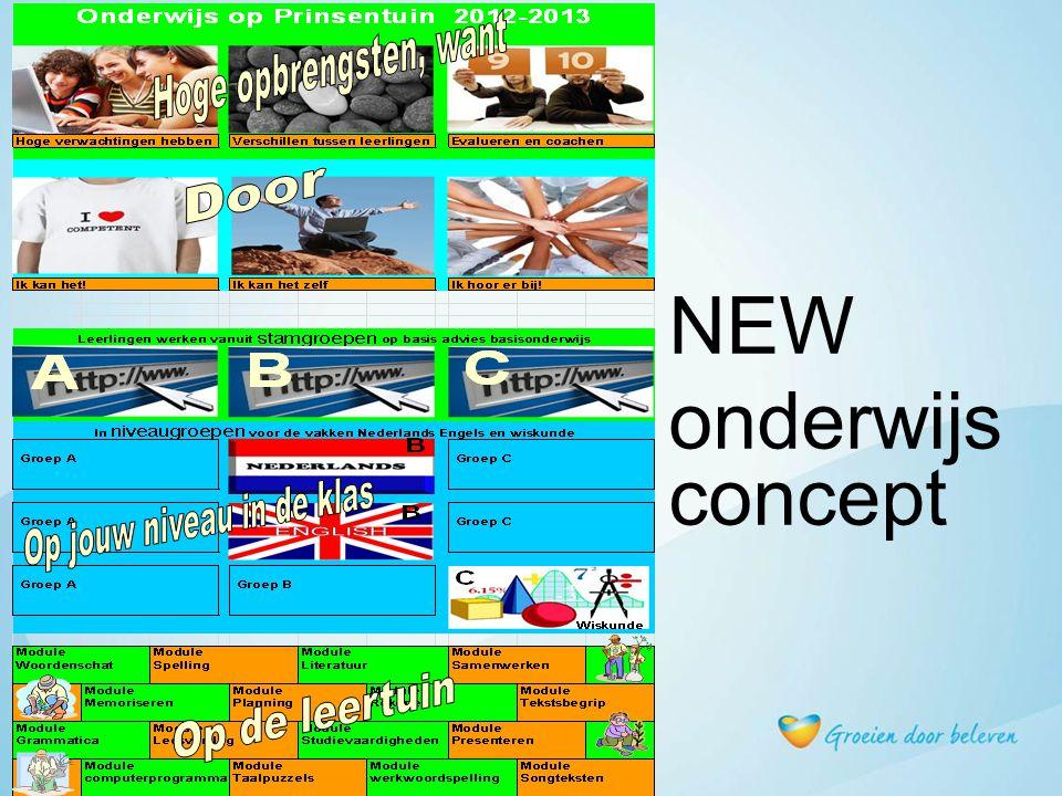 NEW onderwijs concept