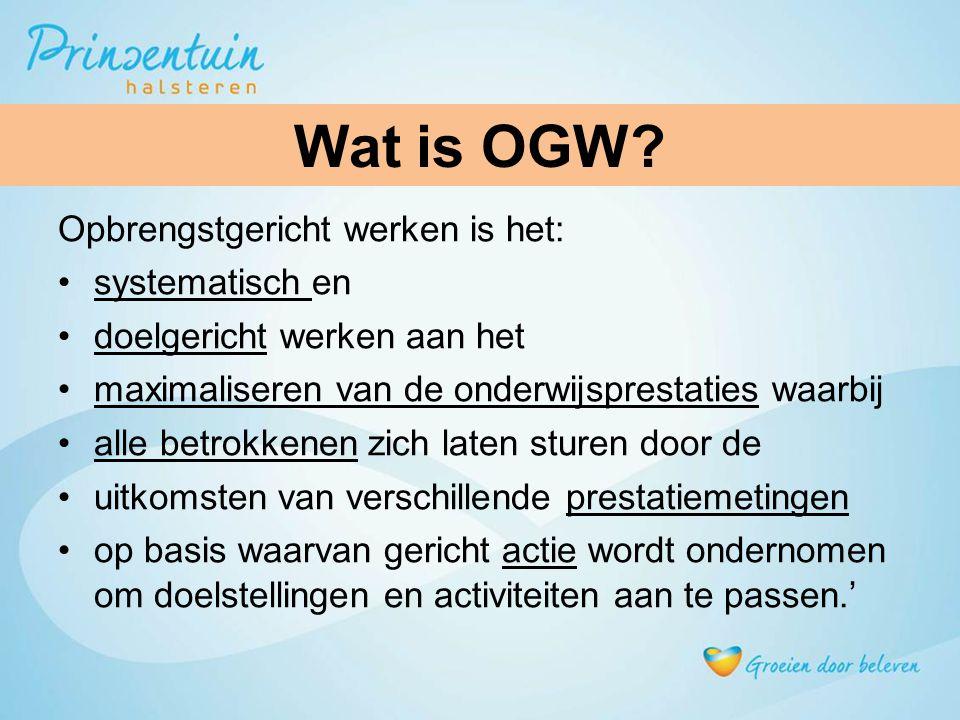 Wat is OGW.