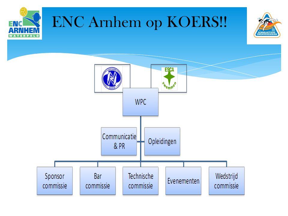 ENC Arnhem op KOERS?