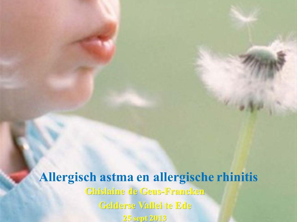 Allergisch astma en allergische rhinitis