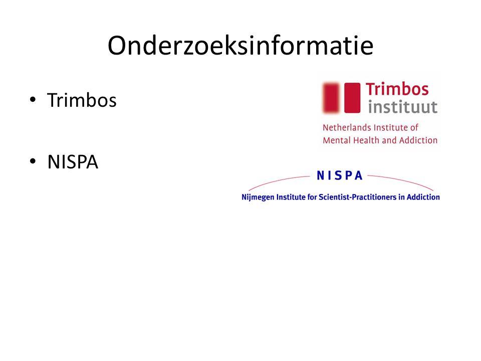 Onderzoeksinformatie Trimbos NISPA
