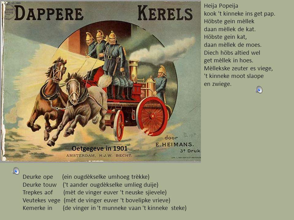Assepoester oetgegeve in 1943 Meidske maag iech mèt diech verkiere daan zal iech diech de polka liere.