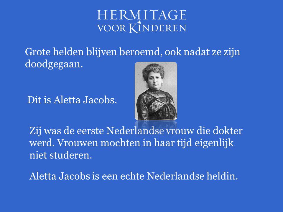 Zij was de eerste Nederlandse vrouw die dokter werd.