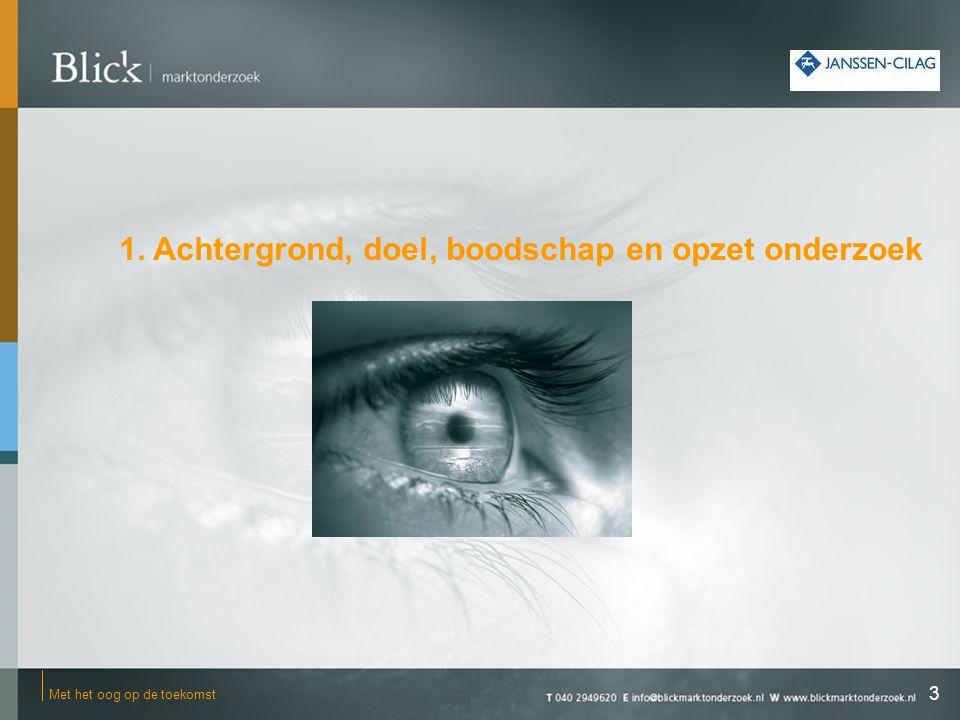 ●Achtergrond: Binnen Janssen-Cilag bestaat de behoefte aan inzicht in de communicatieve waarde van printuitingen als onderdeel van de voorlichtingscampagne 'Rem Alzheimer'.