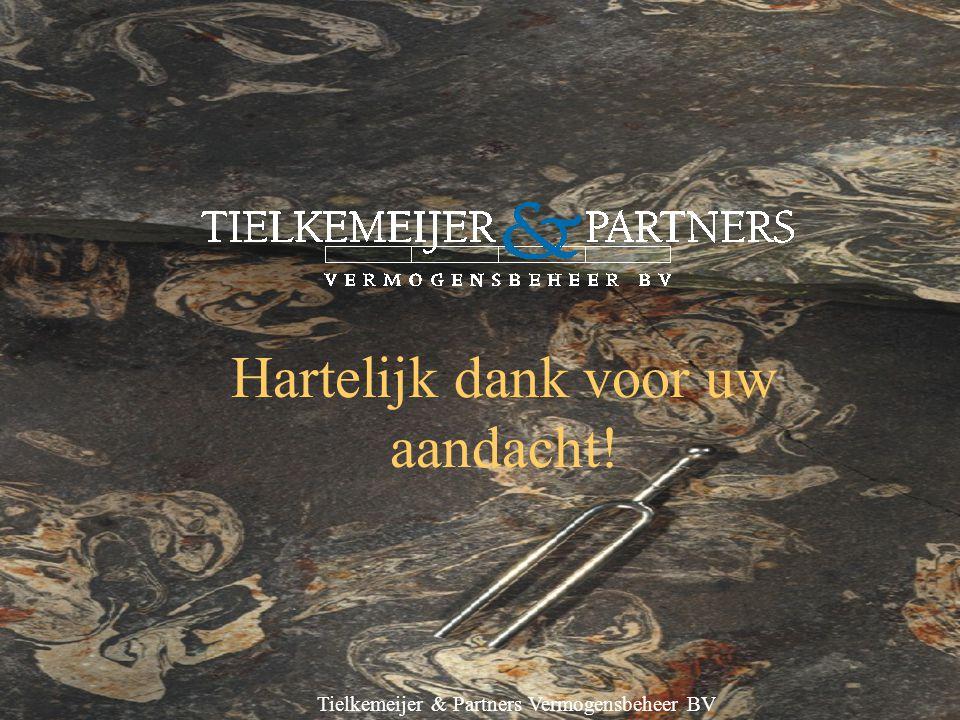 Tielkemeijer & Partners Vermogensbeheer BV Hartelijk dank voor uw aandacht!