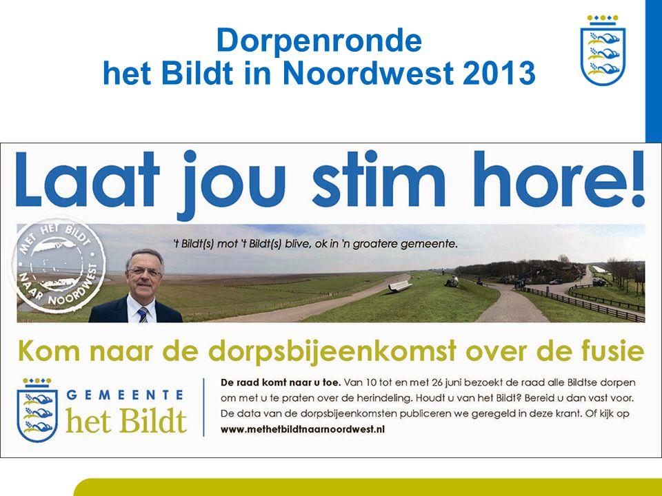 Dorpenronde het Bildt in Noordwest 2013