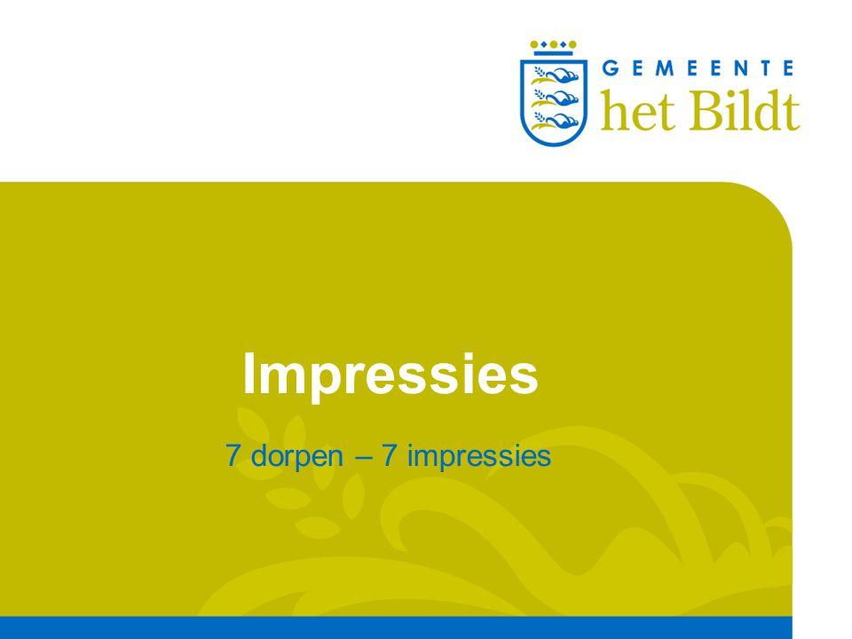 Impressies 7 dorpen – 7 impressies
