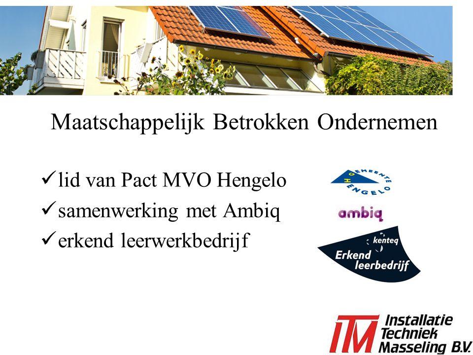 Maatschappelijk Betrokken Ondernemen lid van Pact MVO Hengelo samenwerking met Ambiq erkend leerwerkbedrijf