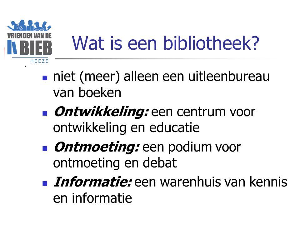 Wat is een bibliotheek.