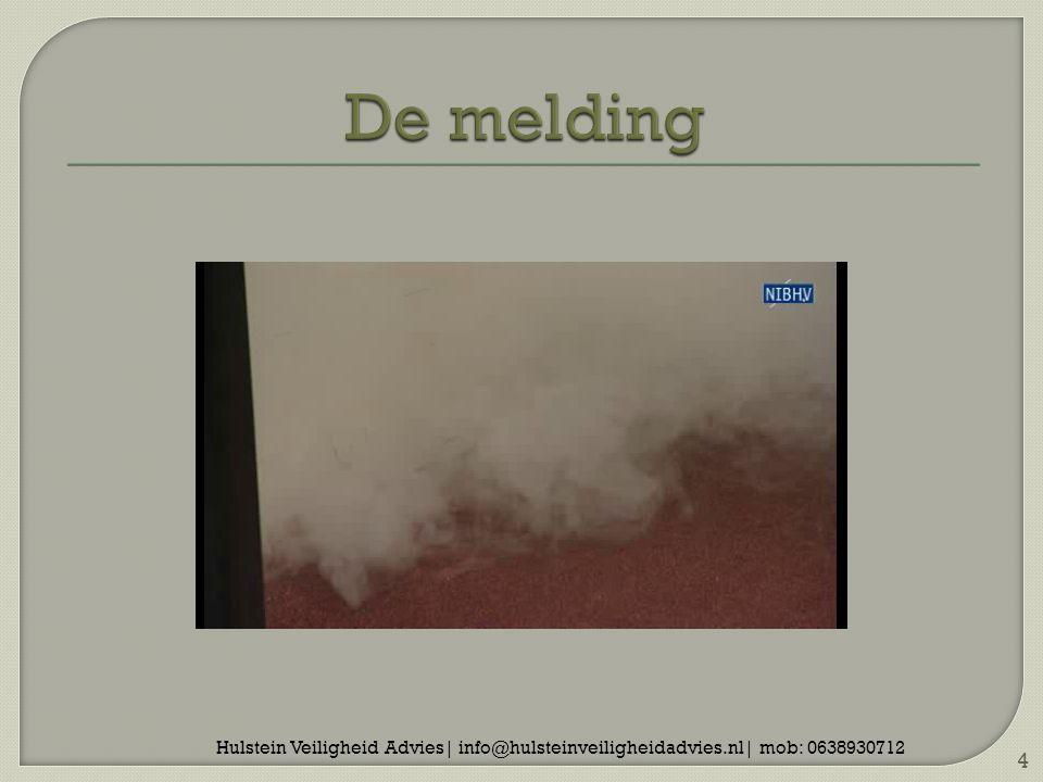 5 Een kleine oefening Brand in magazijn met rookvorming