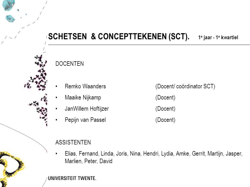 SCHETSEN & CONCEPTTEKENEN (SCT).