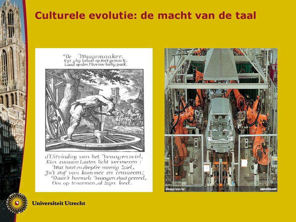 Culturele evolutie: de macht van de taal