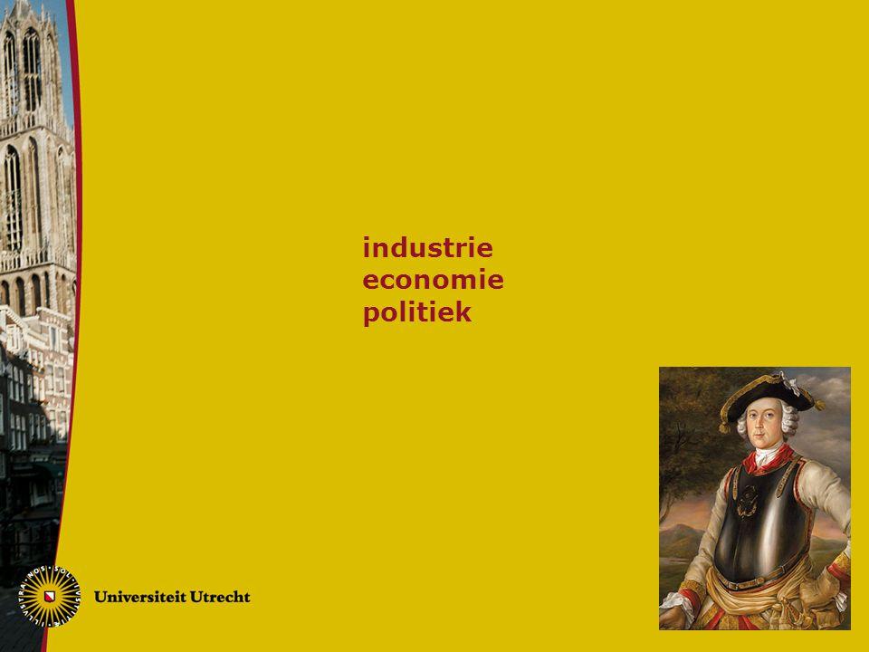 industrie economie politiek