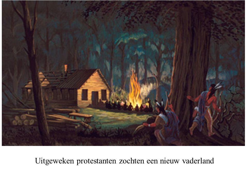 Uitgeweken protestanten zochten een nieuw vaderland