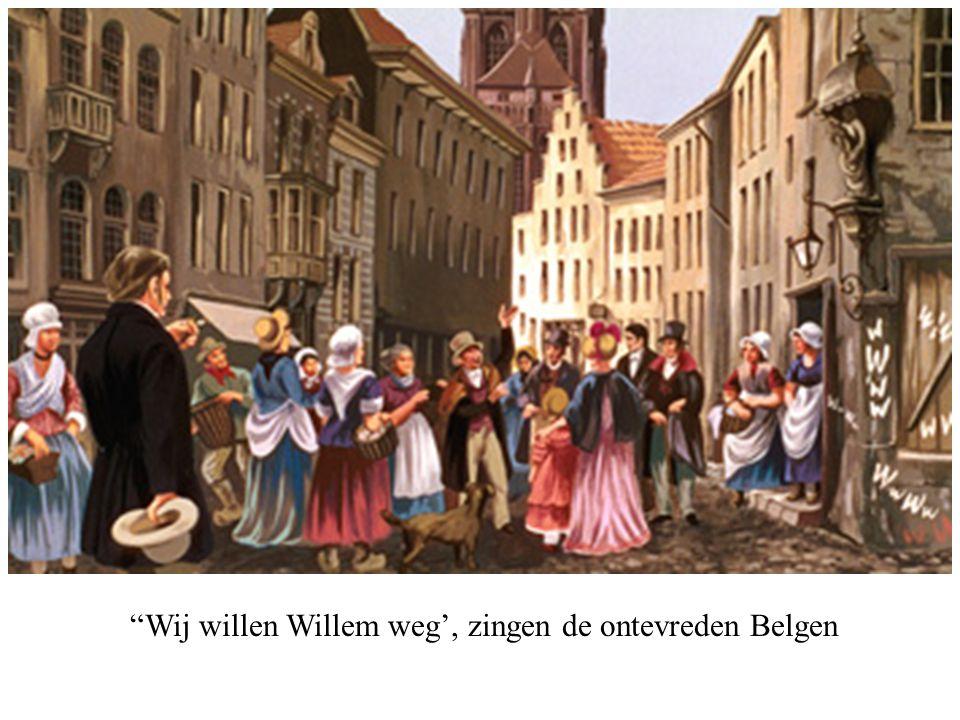 """""""Wij willen Willem weg', zingen de ontevreden Belgen"""