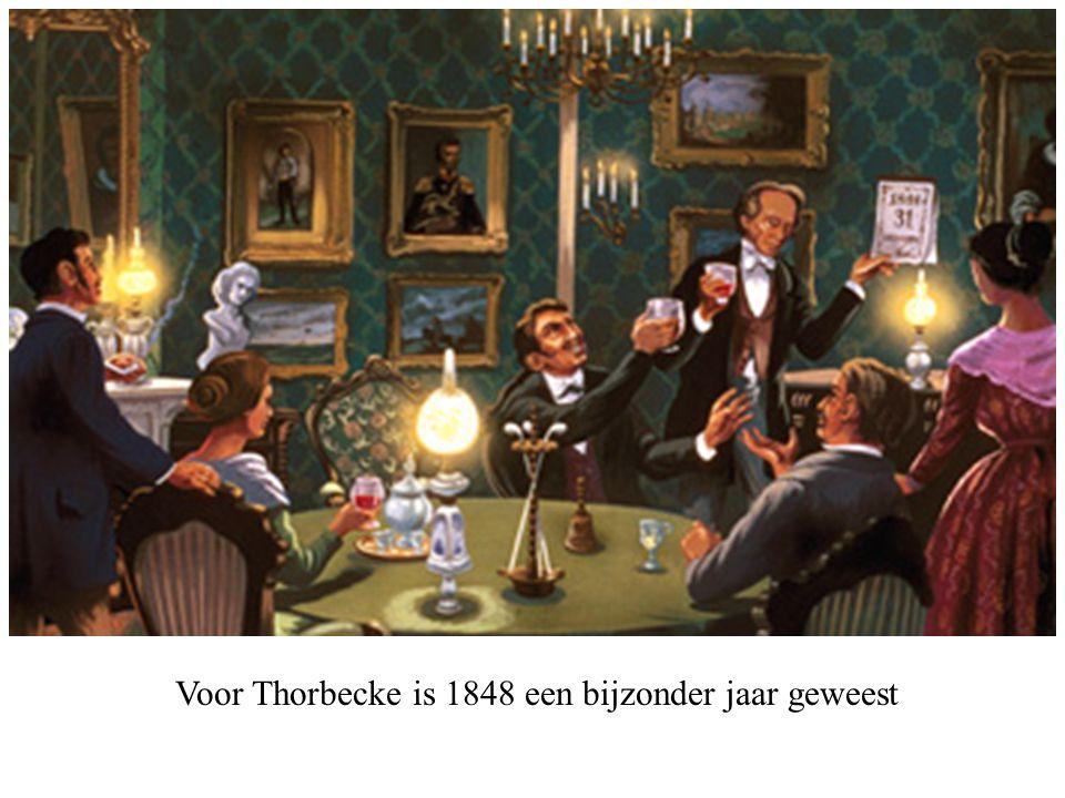 Voor Thorbecke is 1848 een bijzonder jaar geweest