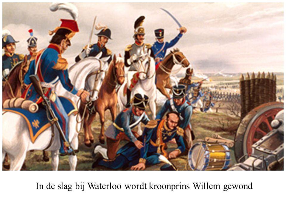 Willem I houdt als koning zijn intocht in Brussel