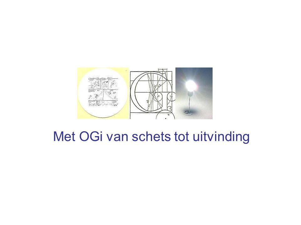Met OGi van schets tot uitvinding