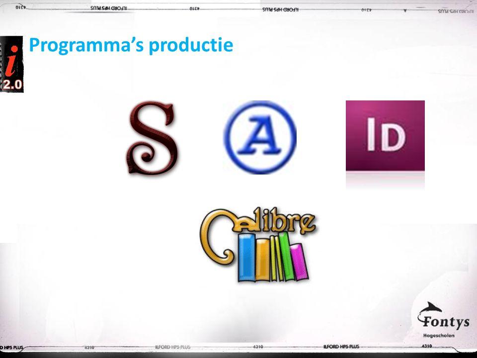 Programma's productie