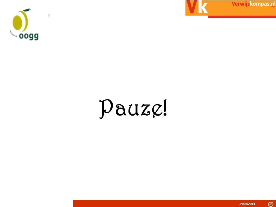 21/07/201434 Pauze!