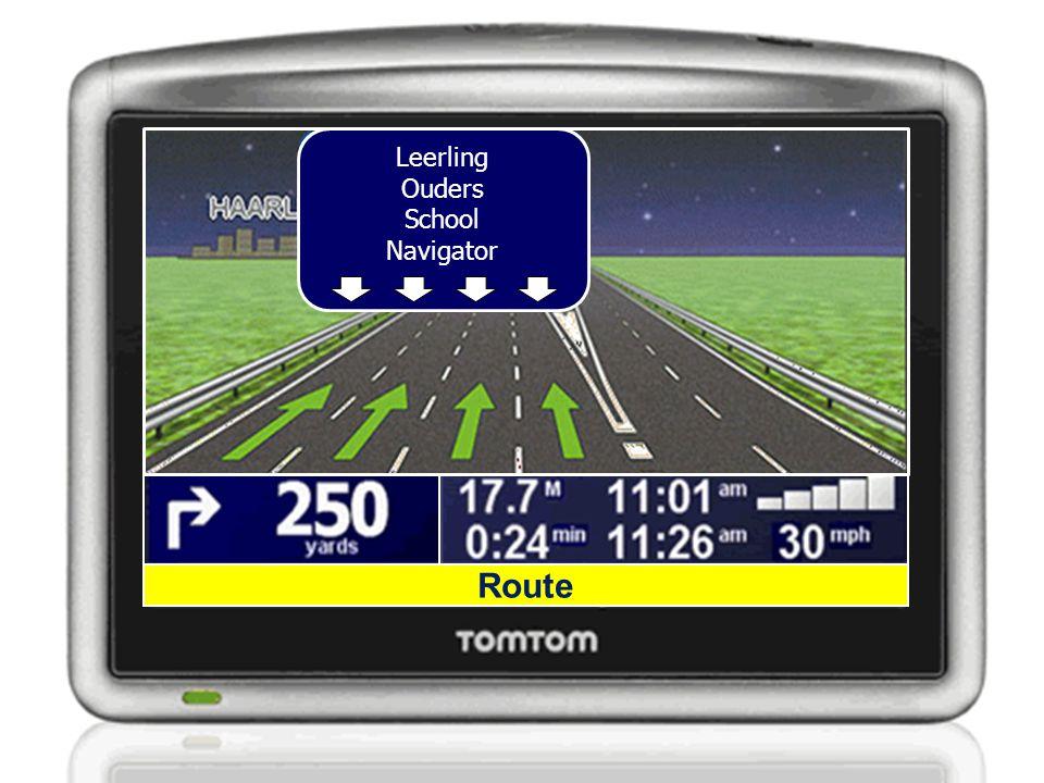 Route Leerling Ouders School Navigator