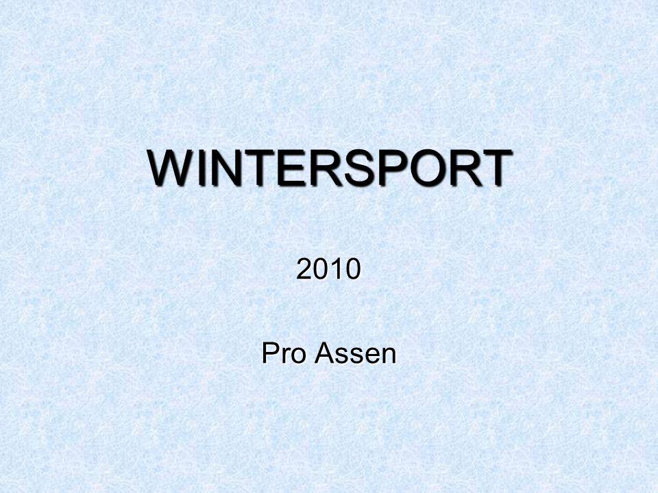 WINTERSPORT 2010 Pro Assen