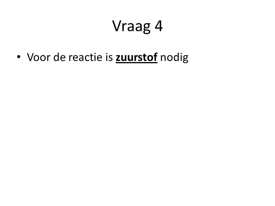 Vraag 5 Meetresultaten titreren Natronloog (mL) 1 e keer2 e keer gem toegevoegd 10 mL augurkennat Toegevoegd 14 ml.