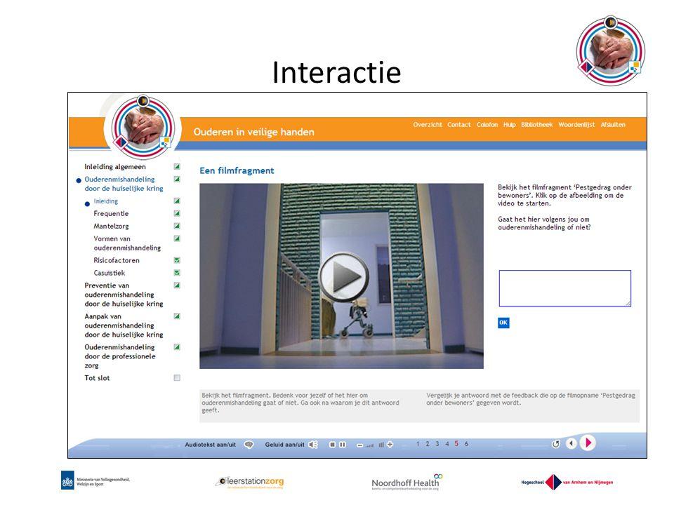 Interactie www.oivh.nl