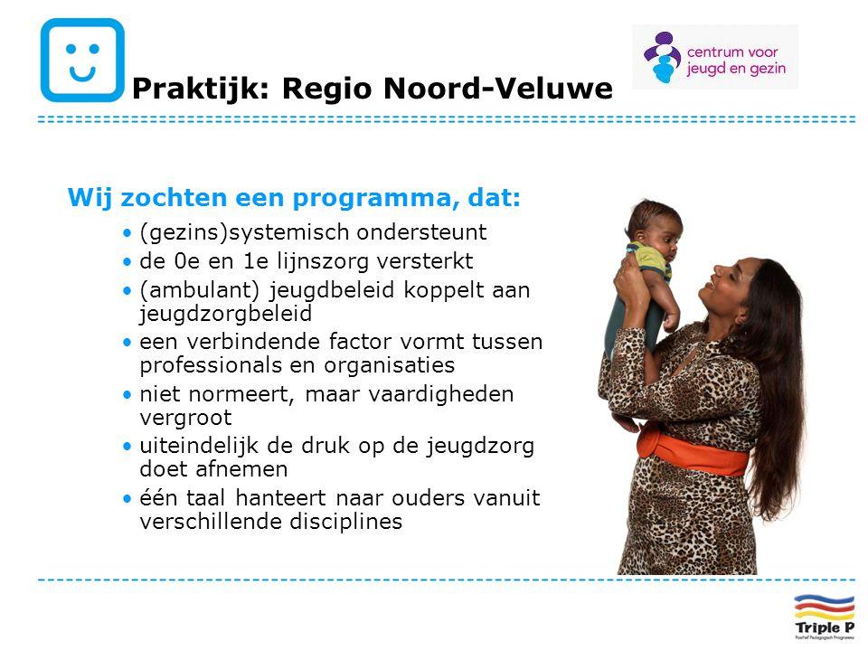 Wij zochten een programma, dat: (gezins)systemisch ondersteunt de 0e en 1e lijnszorg versterkt (ambulant) jeugdbeleid koppelt aan jeugdzorgbeleid een