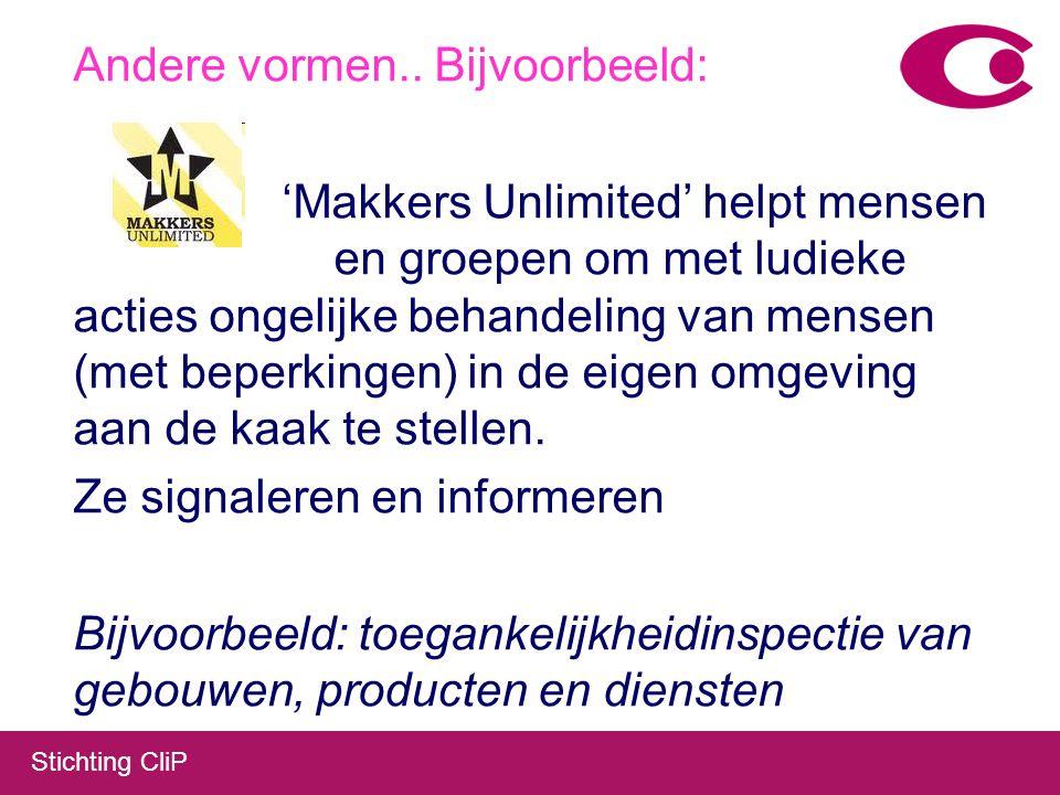 Stichting CliP Of Spiegelgesprekken Cliënten vertellen medewerkers over hun ervaringen met de dienstverlening.