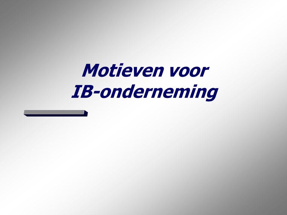 De juiste rechtsvorm: In of uit de B.V.? 2 Aan de orde komen:  Motieven voor een IB-onderneming (eenmanszaak of personenvennoot- schap) als rechtsvorm: −meewerkaftrek; −partnervergoeding; −man/vrouwpersonenvennootschap.