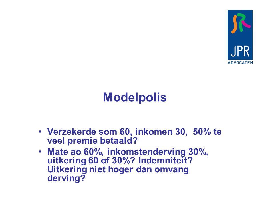 Slotsom De AOV is een inkomensverzekering De rol van het inkomen in de AOV is een kwestie van heldere voorwaarden en actieve voorlichting Variaties in de markt, ondoorzichtig Verantwoordelijkheid aanbieder en intermediair