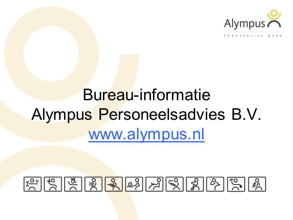 Bureau-informatie Alympus Personeelsadvies B.V. www.alympus.nl