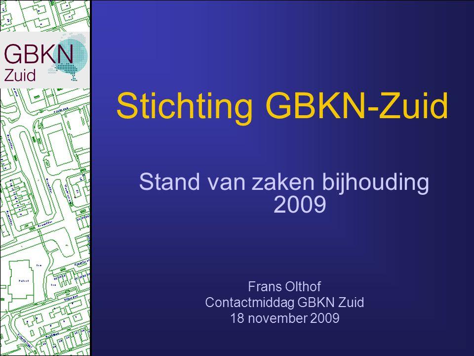 Aanbesteding 2009/2010 Nieuw Fotogrammetrie toegestaan (oplossing volledigheidsprobleem secundair gebied) Inwinning volgens Handboek GBKN (vwb bebouwing) toegestaan mits….