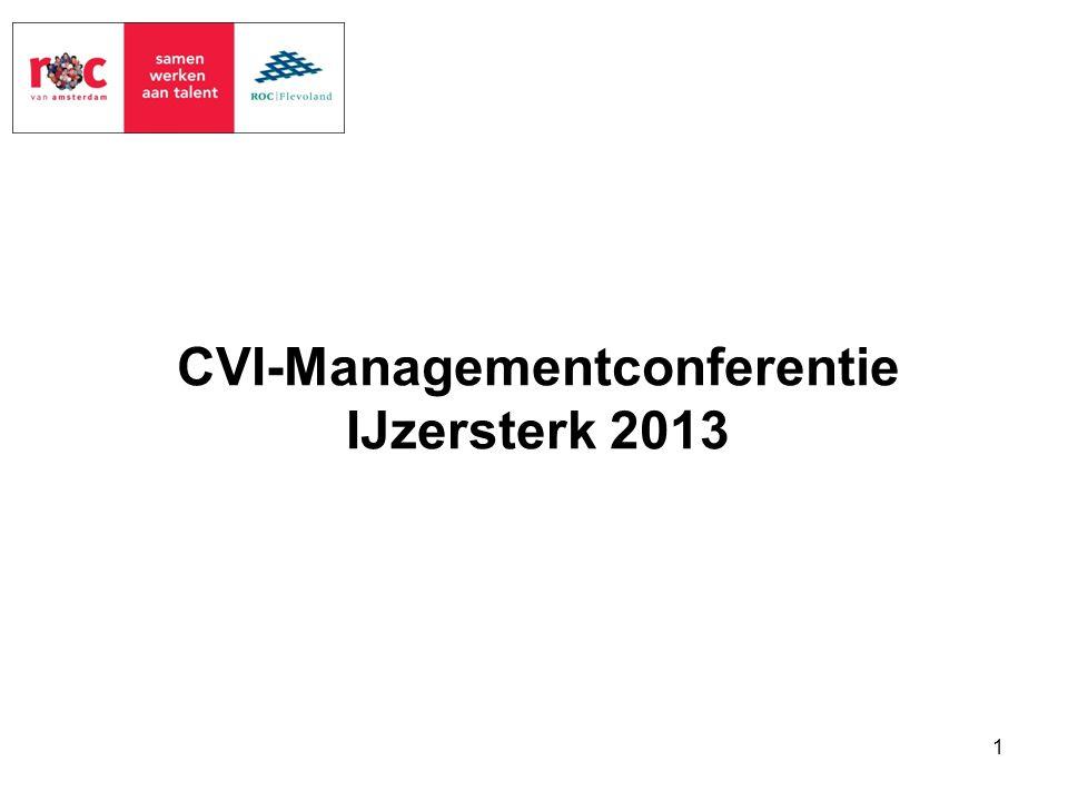 CVI-Managementconferentie IJzersterk 2013 1