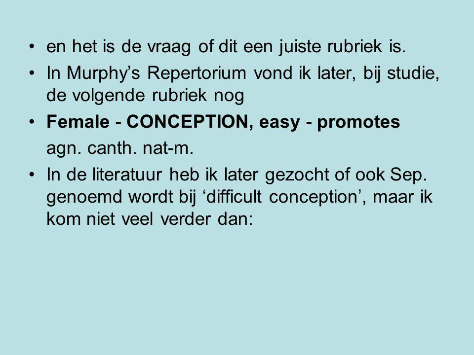 FEMALE GENITALIA/SEX - STERILITY agn.Alet. alum. Am-c.