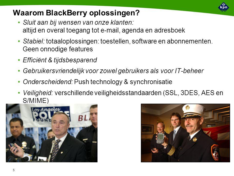5 Waarom BlackBerry oplossingen.