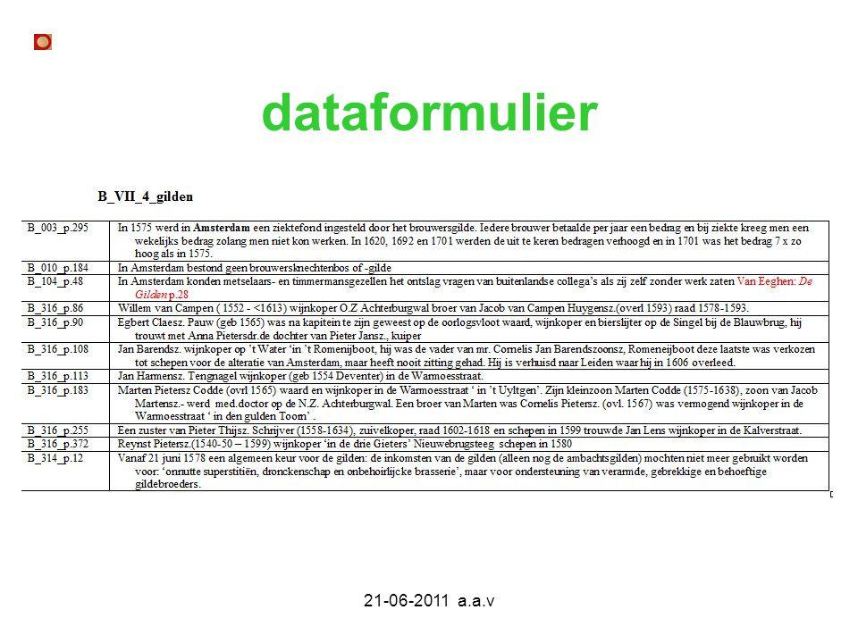 21-06-2011 a.a.v dataformulier