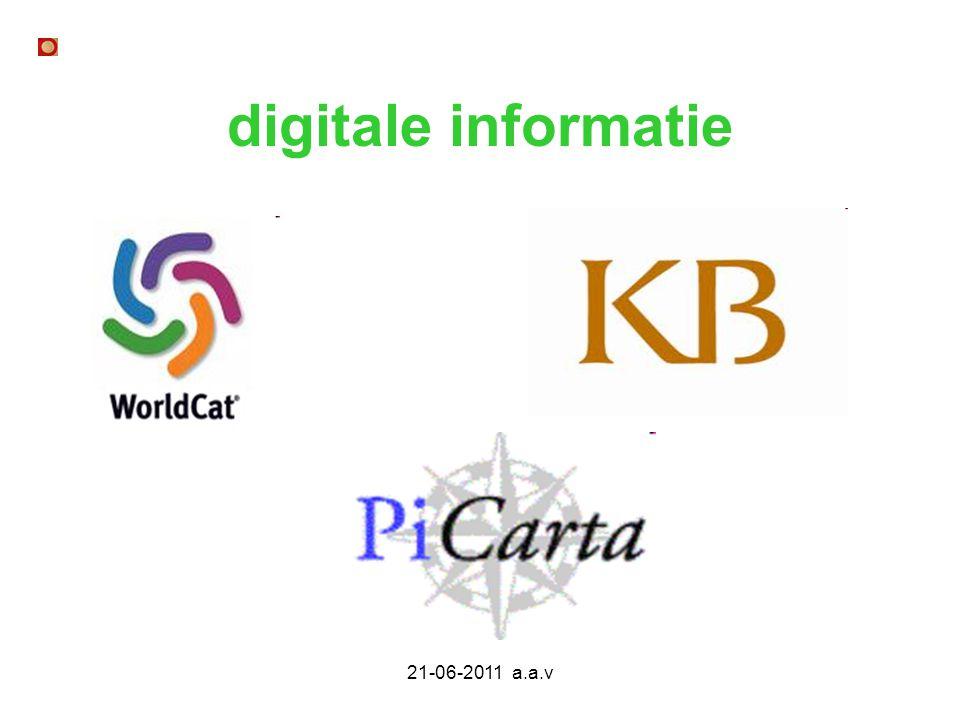 21-06-2011 a.a.v digitale informatie