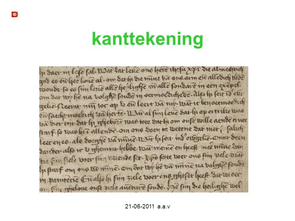 21-06-2011 a.a.v literatuur